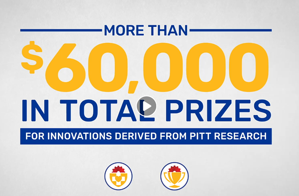 60K in Prizes for innovations derived from Pitt Research