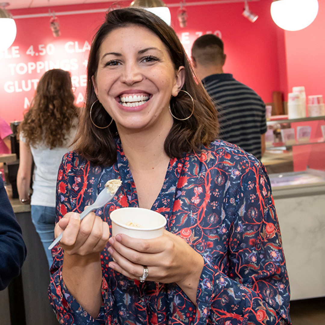 Lauren Townsend, Co-Founder of Millie's Homemade Ice Cream